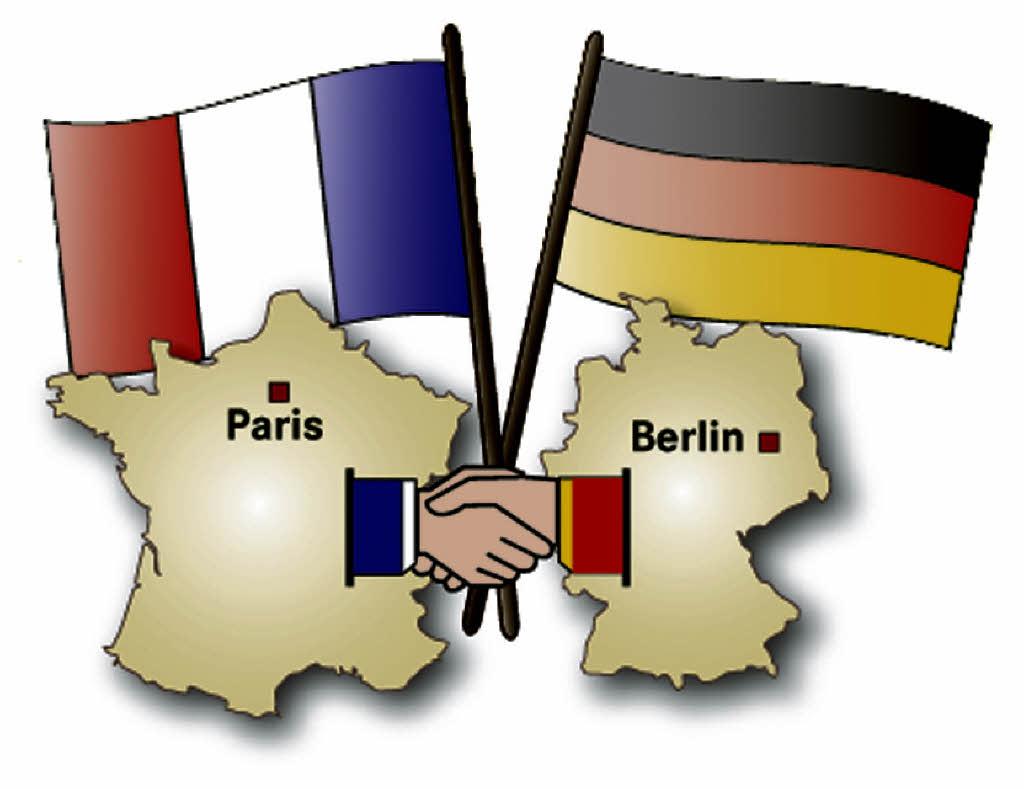 Frankreich Deutschland Freundschaft